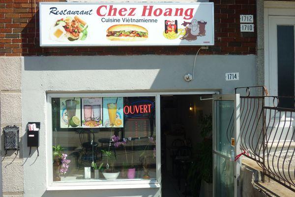 restaurant chez hoang promenade fleury ahuntsicn Montreal