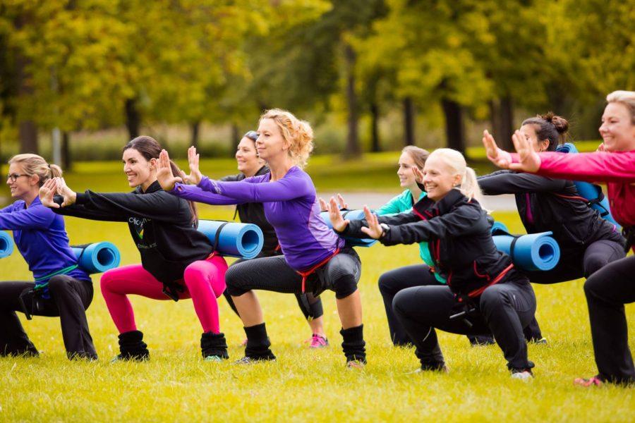 Cardio Plein Air Ahunstic Cartierville outdoor fitness