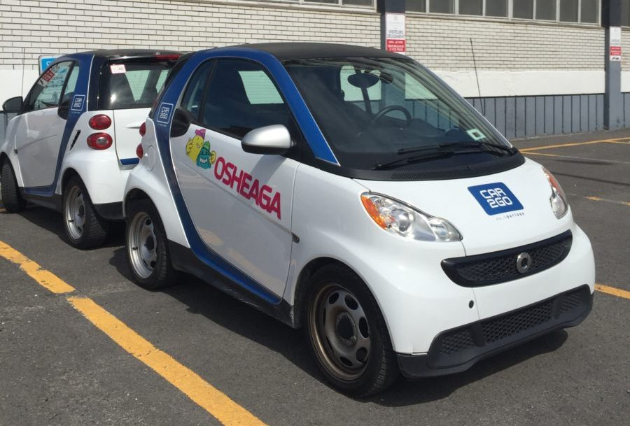 Car2Go Osheaga Montreal DCMTL Car Share Rental