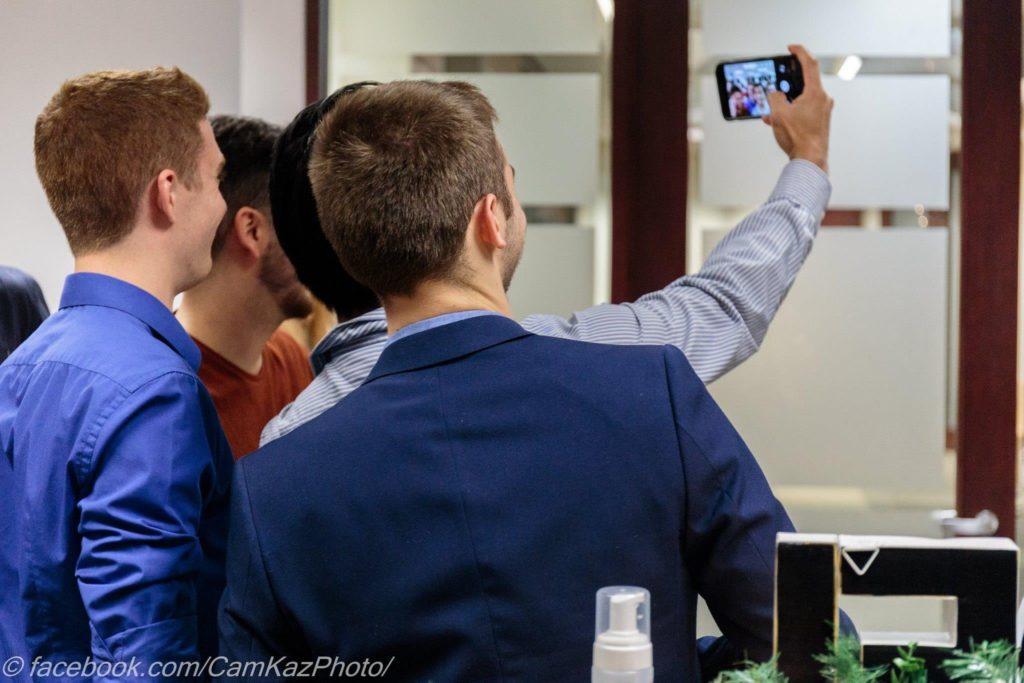 Queer Tech MTL Selfie